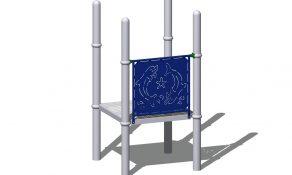 Ocean Play Steel Play Panel