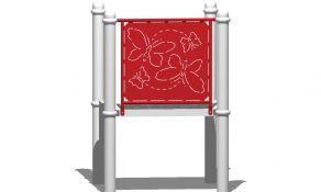 Butterfly Steel Play Panel