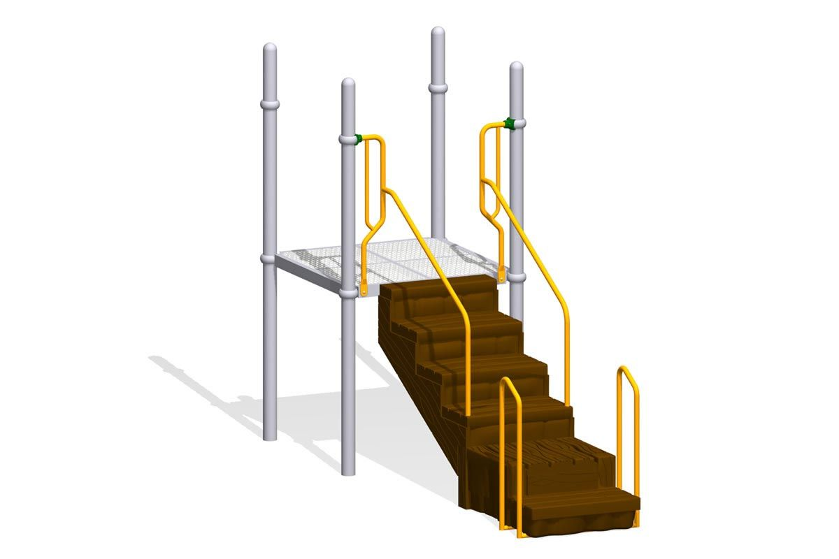 Big Timber Steps, Inline Transfer Point