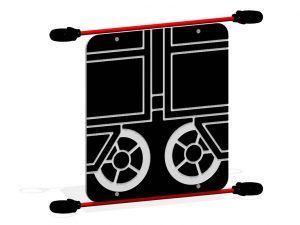 Train Coal Car Panel, Middle Bottom