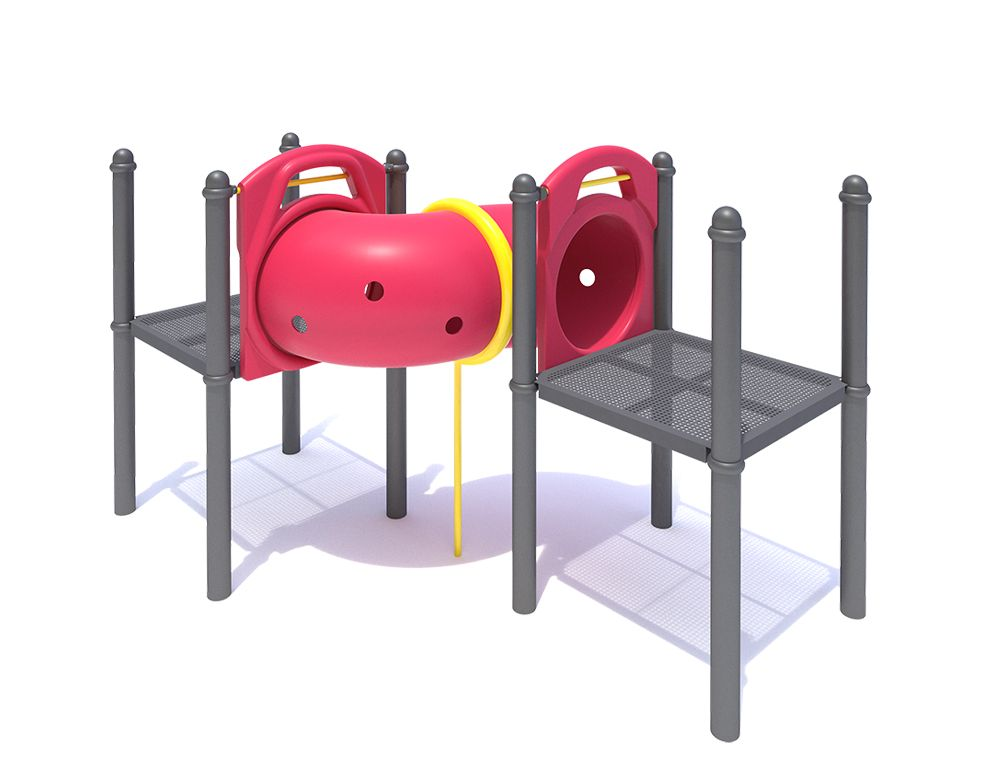 S-Shaped Crawl Tubes with a 30″ (0.8m) Diameter