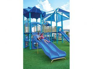 Dupli-Gator Slide for Playgrounds