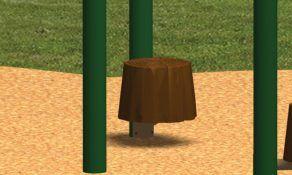 Single Stump Seat
