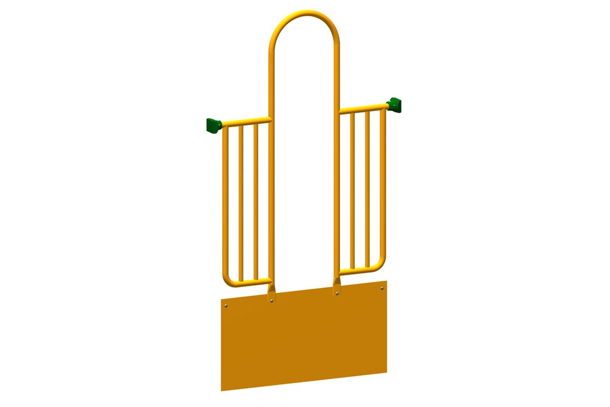 """18"""" Steel Riser with Arch Entry Enclosure"""