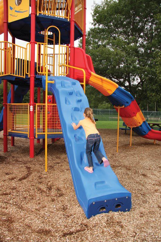 Scale-n-Slide Climber