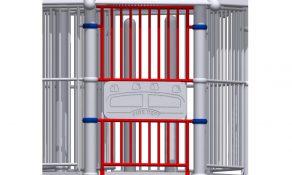 Upper & Lower Enclosure for Half-Panel