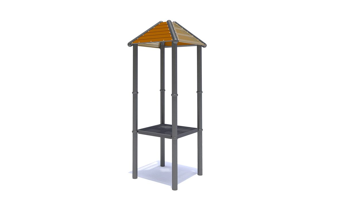 Recycled/Steel Square Roof