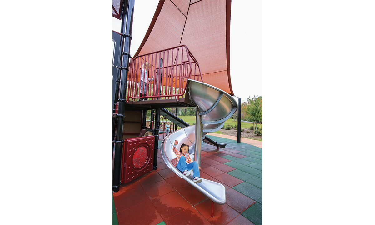 Stainless Steel 360° Whirlwind II Slide