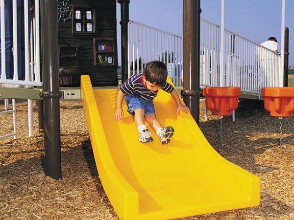 Ski Slide, 4' Long