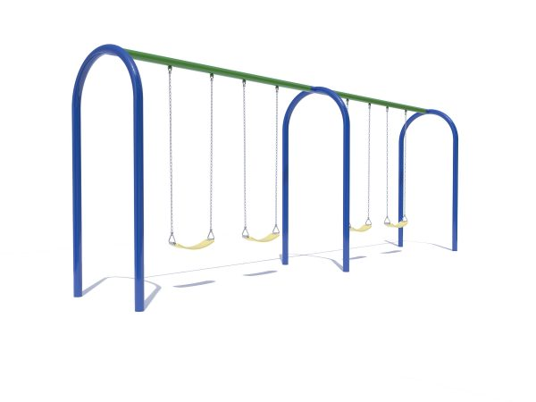 Arch Swings with 4 Belt Seats