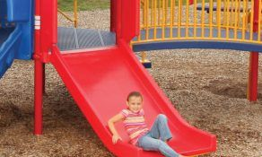 Ski Slide with Canopy, 6′ Long