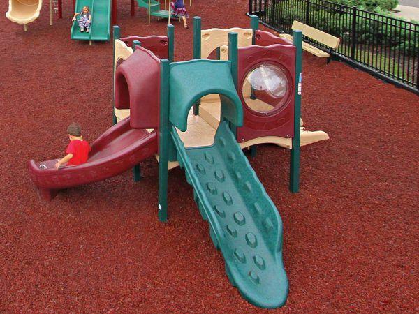 Natural In-ground Toddler Playground