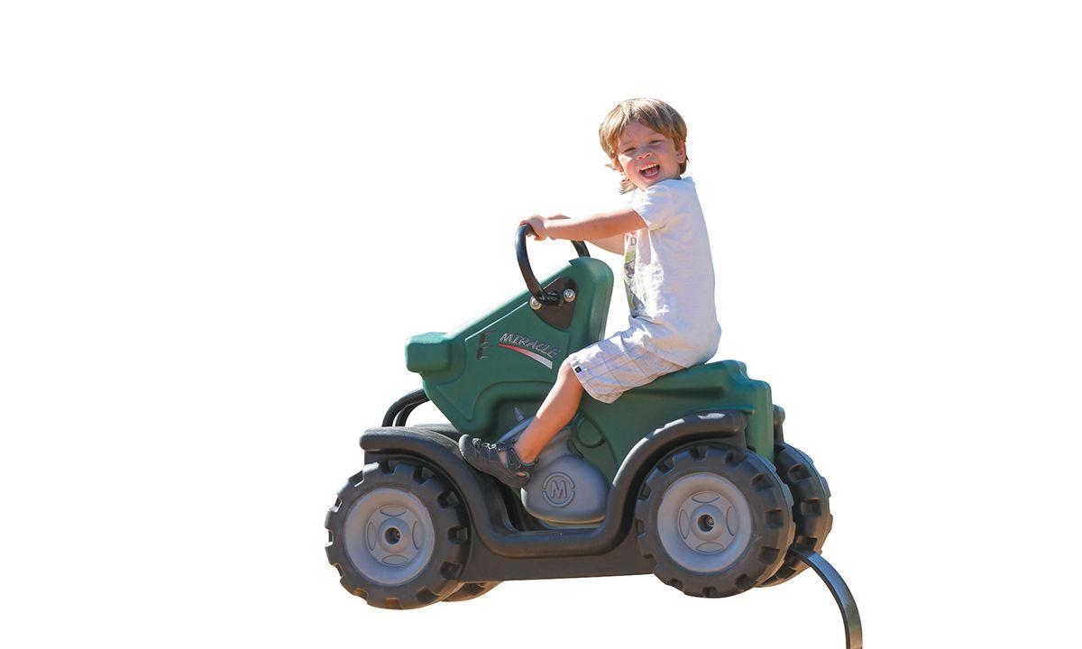 ATV playground spring rider