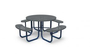 46″ Round Table – Perforated – Portable