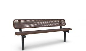Contemporary 6′ In ground Bench – Brown