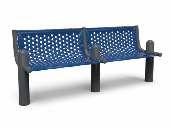 Add-On Extendable Post Bench 3' Surface Mount