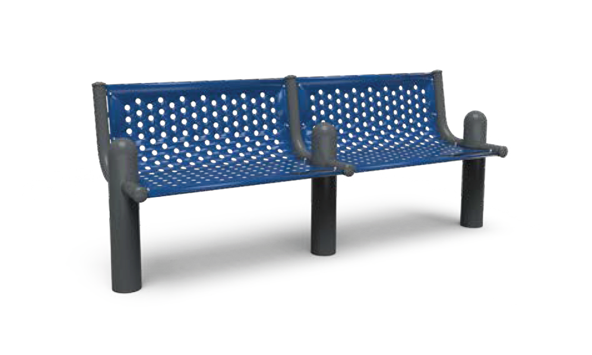 Add-On Extendable Post Bench 3' In-Ground